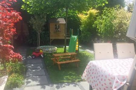 Woning met zonnige tuin nabij Spiegelplas & Vecht