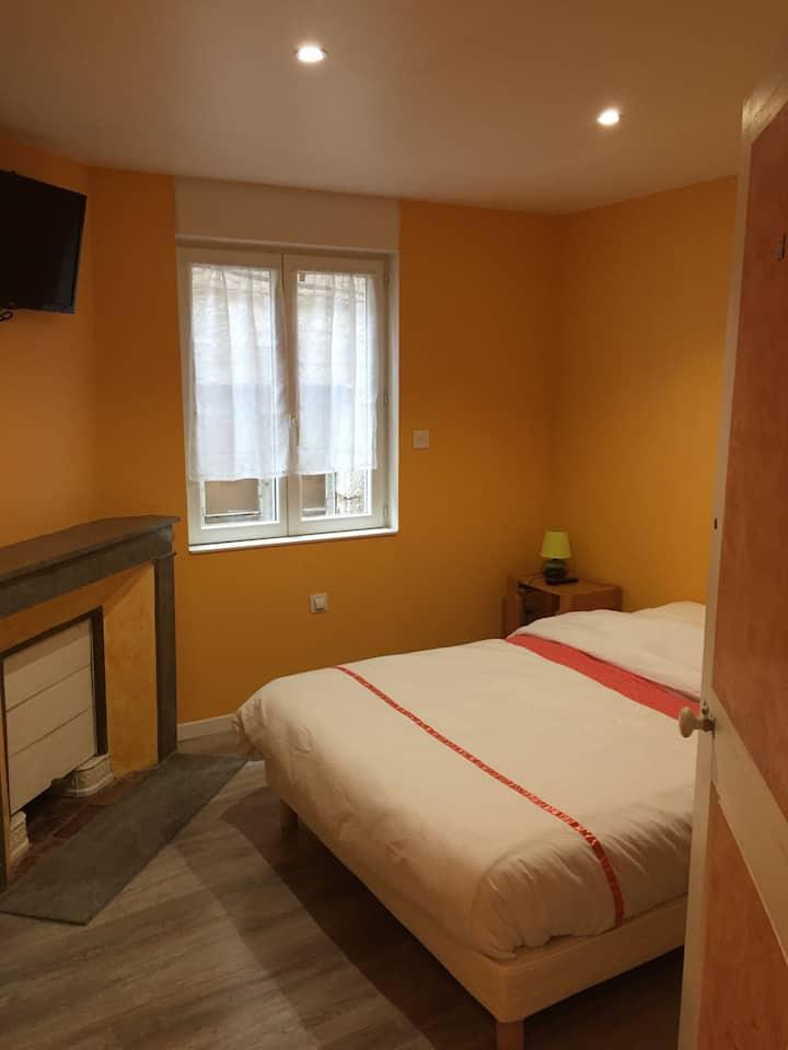Chambre pour 2 sur chemin GR65 (#3)