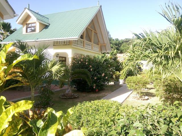Villa Payanke-Chalets Anse Reunion - La Digue - Villa