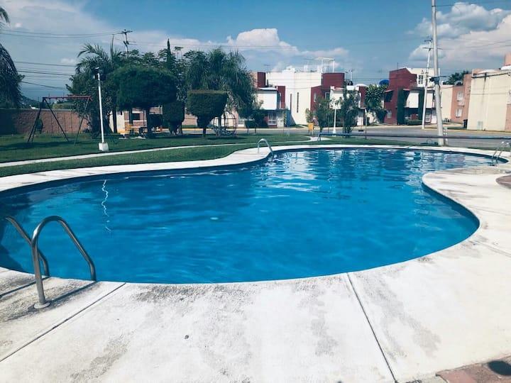 Casa de descanso con alberca en Xochitepec