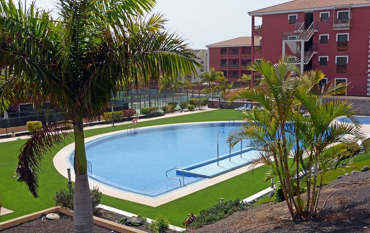ESTUDIO CON PISCINA Y PADEL TENERIFE SUR - Palm-Mar - Apartment