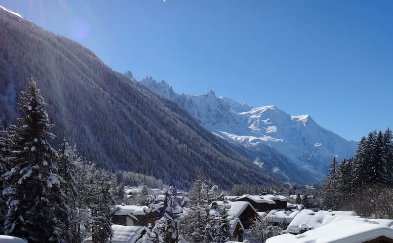 Lovely apartment with stunning views, Argentiere - Chamonix - Huoneisto
