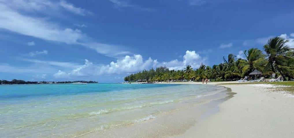 Airy and Elegant Beachfront Villa - Bluebay - Villa