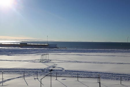 Cozy  Place By The Sea W Beautiful panoramic View - Akranes - Apartment