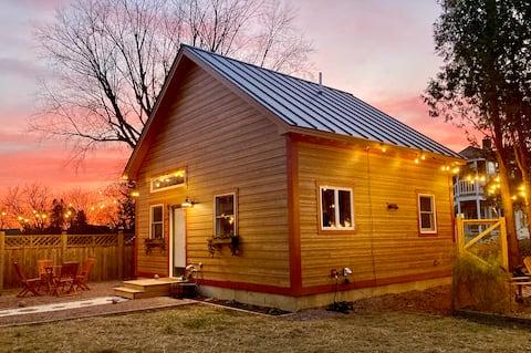 Modern Rustic Backyard Cottage