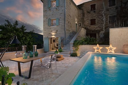 Villa Gradinje, romantic stone villa - Villa