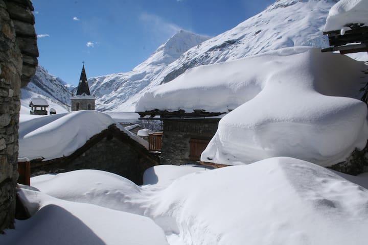 Chalet La Torna au vieux village de Bonneval 1800m - Bonneval-sur-Arc - Chalet