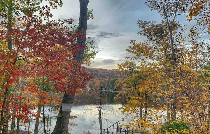 Cozy Lake View Cottage (1 hr to Manhattan)