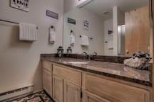 1st floor bathroom and shower
