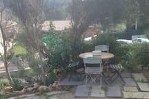 studio au calme campagne au milieu des vignes