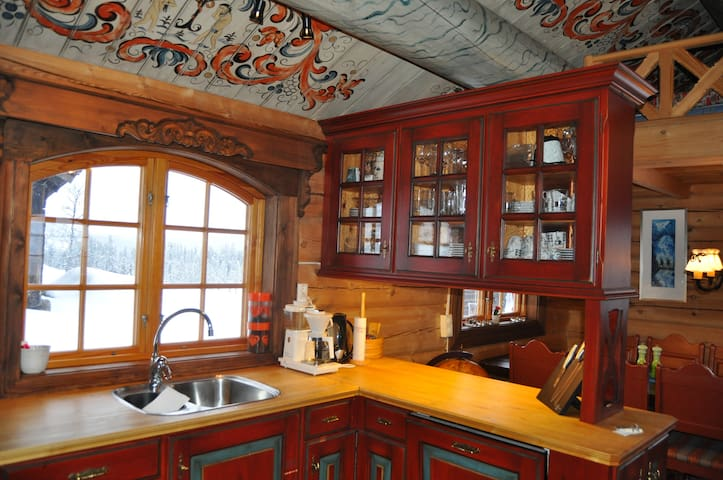 Mountain lodge/cabin - Ål - Casa de campo