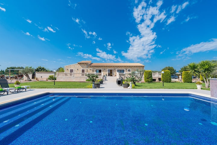 CAN DOLÇ - Villa with private pool in sa pobla. Free WiFi