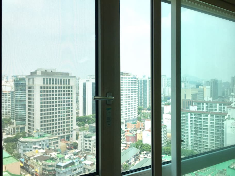 the view you'll see from the room!