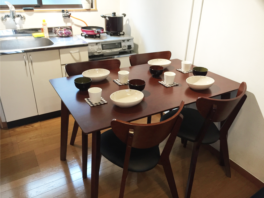1st floor dining table