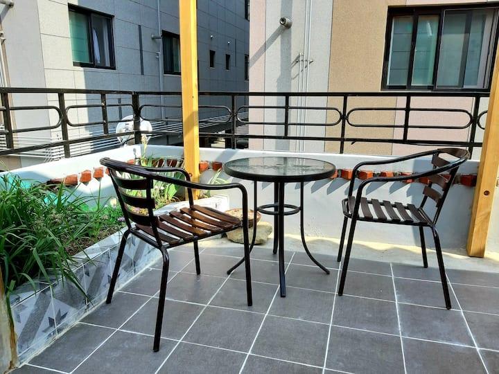 Near ktx station/ all renewal 2 room/ 2F terrace