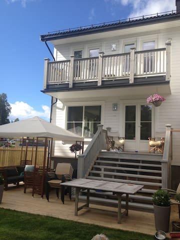 Lovely townhouse 15 min from Oslo S