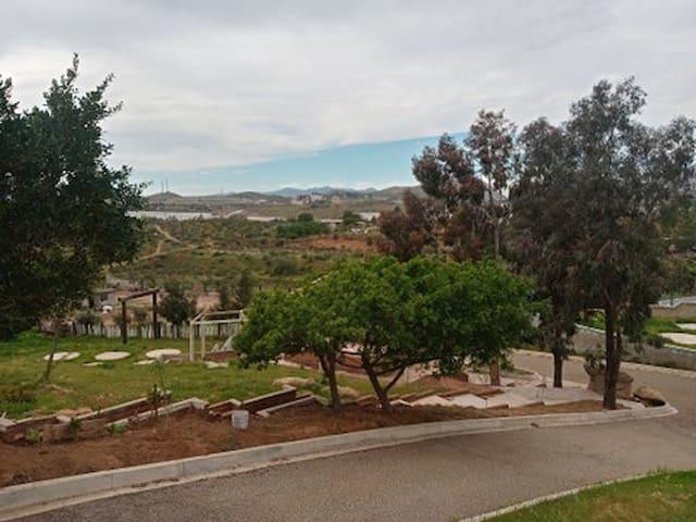 Rancho  El Capiri. Zona de Camping y albercas.