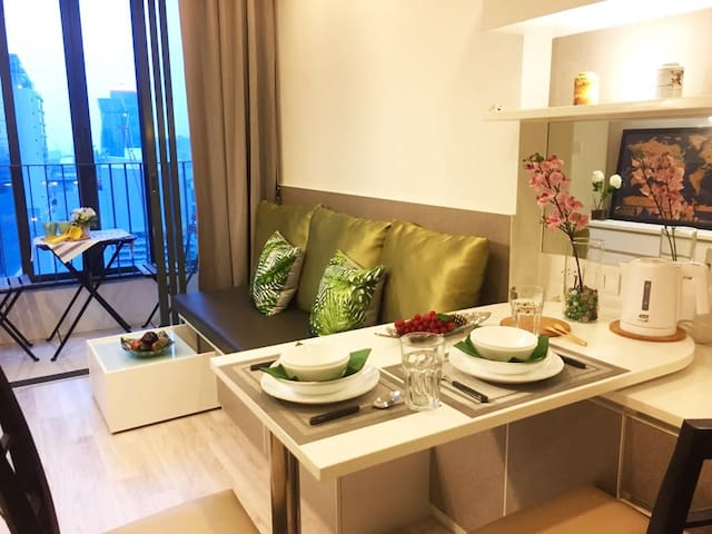 New! 2 Mins from MRT Rama 9, Airport Link, Mall