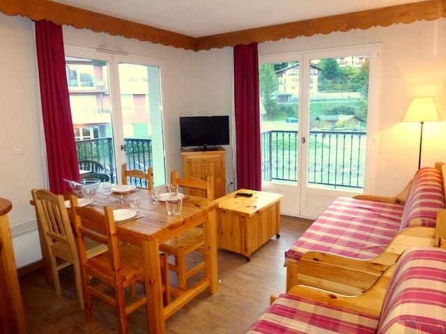 Welcome to our cozy 1 Bedroom apartment in Saint Gervais!
