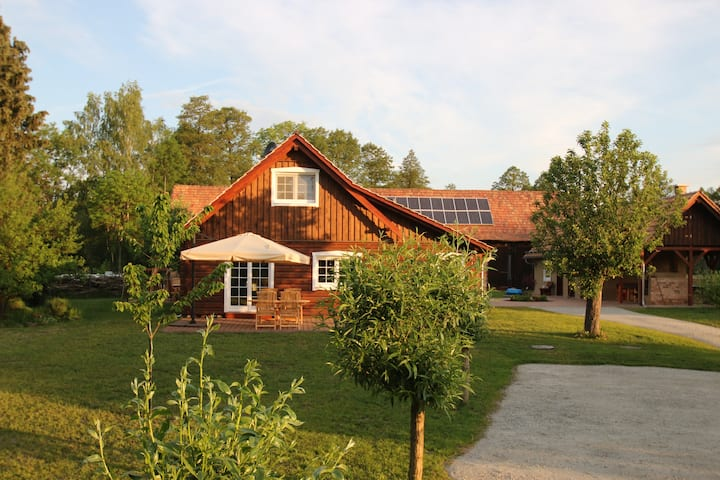 Grüne Farm - Dein Spreewaldhaus