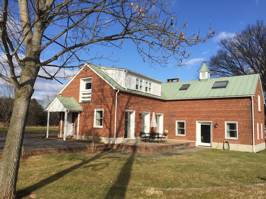 The Brick Barn At Historic Rockland Houses For Rent In