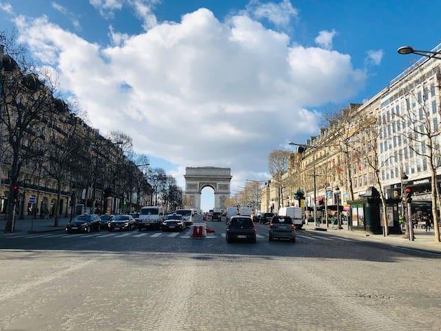 Luxury&Design spacious Champs-Elysées center*140m2