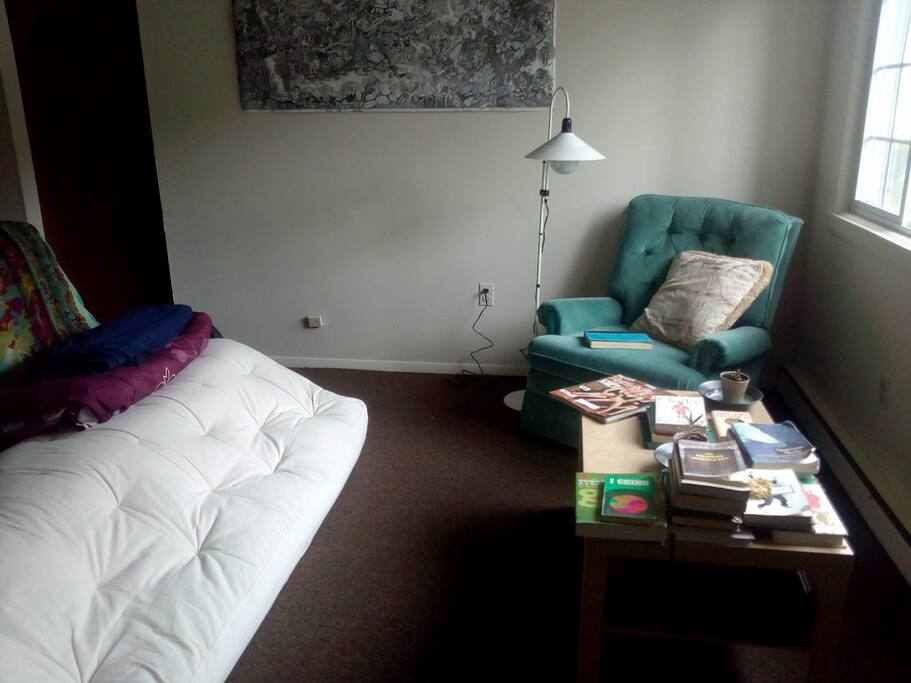 Simple cozy private room in amherst apartments for for Amherst family room