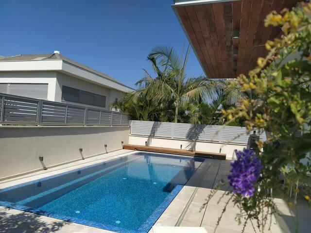 Beautiful mini penthouse with pool near Tel Aviv