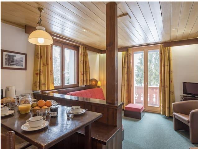 studio résidence hôtelière maeva mont d'arbois