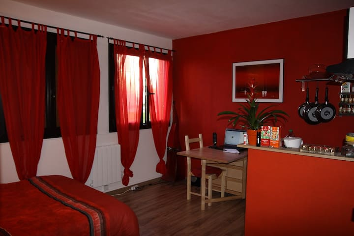 Confortable Studio entre Paris et Versailles - Ville-d'Avray