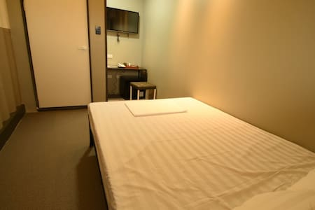 The studio B provides a larger space than type A. It is modest 15% increased in room size.  It provides a secure card system for split type air conditioner, cable TV, refrigerator, and security as well.