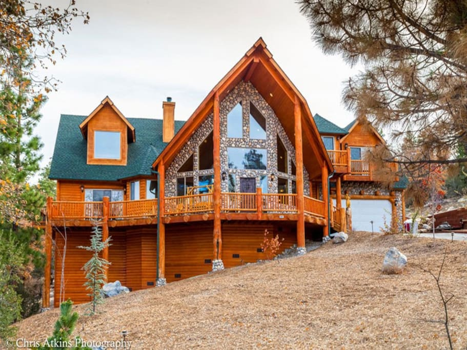 Newer built Luxury Cabin in Big Bear Lake.
