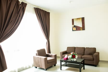 Studio Apartment In Khalifa Close to Alraha beach.
