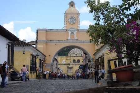 Antigua Family Homestay 3 Meals/Day - Antigua Guatemala
