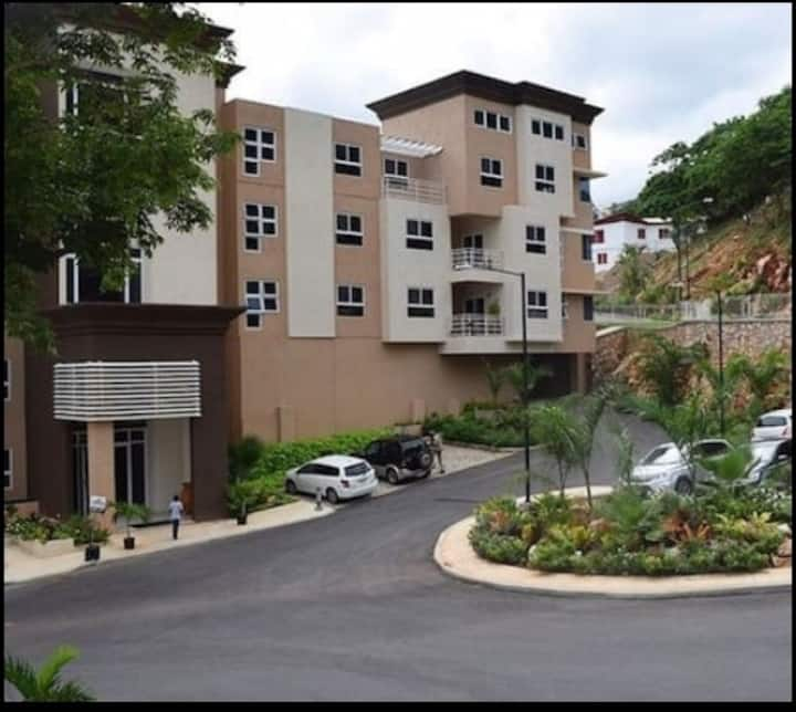 Gated contemporary apartment with balcony-Kingston