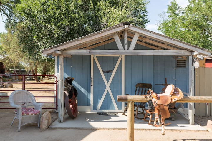 Sling your saddle and make yourself at home in The Bunkhouse at Capability Ranch.