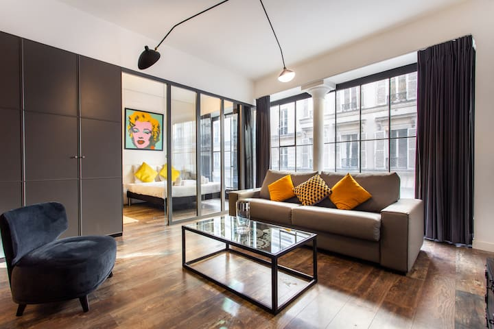 Luxury loft in the center of paris - Near marais