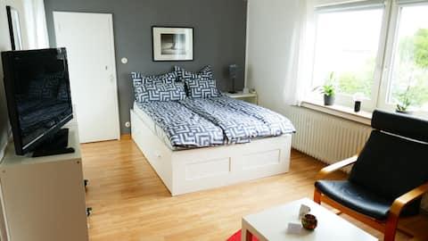 Helles Komfort-Apartment für 1-3 Personen