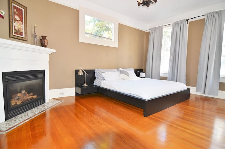 King room w/fireplace, Licensed Rental - San Francisco - Rumah