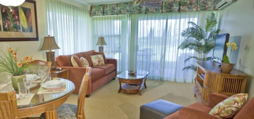 Waikoloa 2BR/2Bath Luxury Resort with Pool