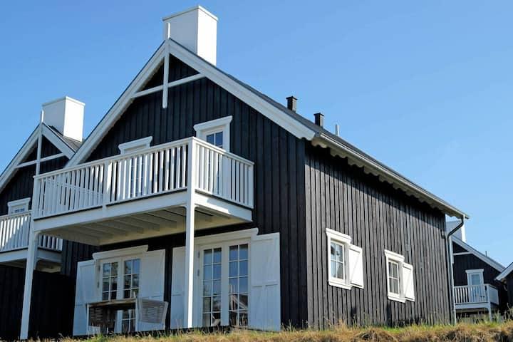 Acogedora casa de vacaciones en Gjern con sauna
