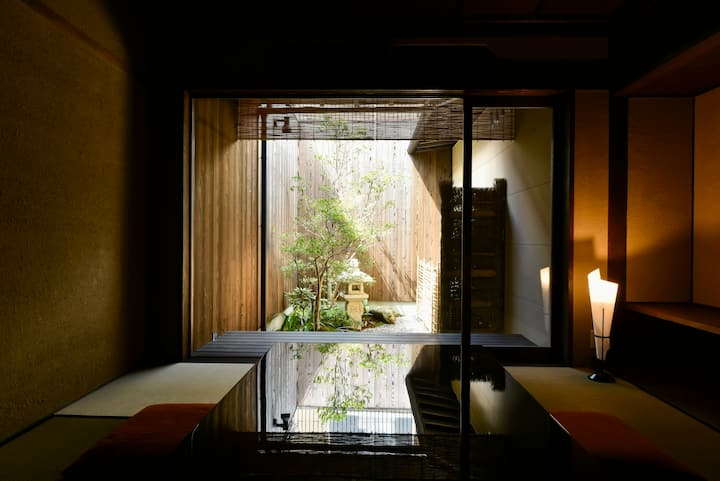 ★Large&Cozy Japanese Villa★GardenView★Bed&Tatami