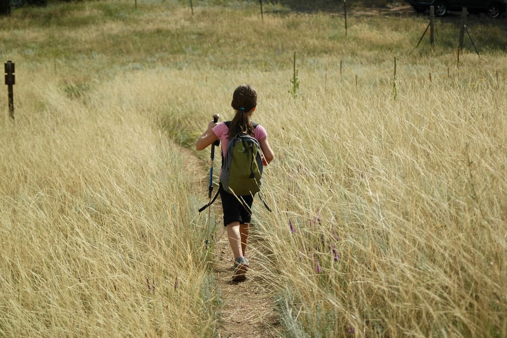 Hikes start at the door, with the Betasso Nature Reserve only a few steps away.