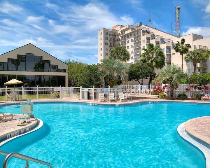 GREAT LOCATION RESORT STUDIO NEAR FL ATTRACTIONS❤
