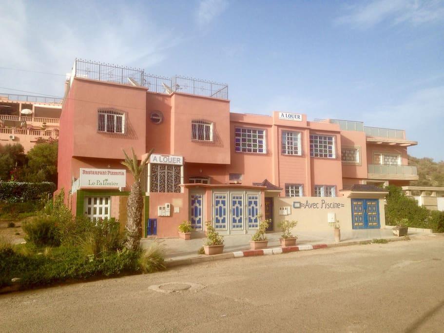 Apartmenthaus Bouhessa