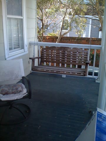 Casual front porch
