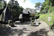 Remise einer historischen Wassermühle im Hunsrück