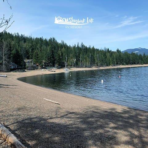 Shuswap Lake RV Resort- Campsite Rental #30