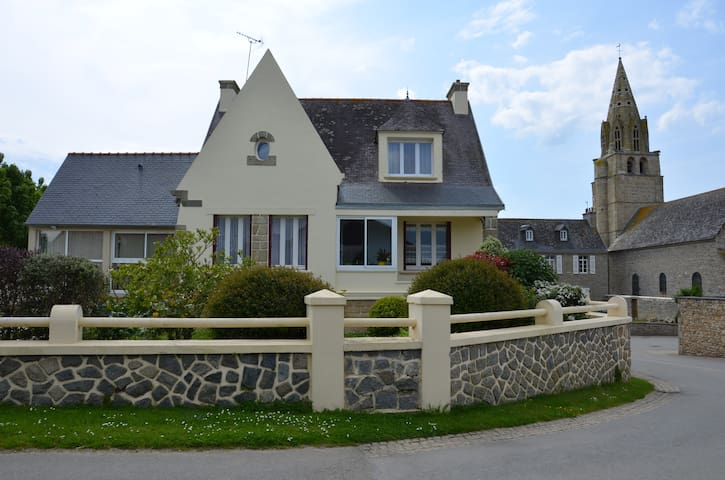 Maison indépendante avec jardin 2 à 5 personnes - Plounévez-Lochrist - Ház