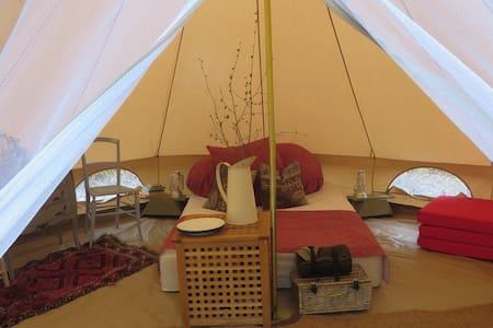Woodland Bell Tent Glamping Hideaway - Plaistow - Zelt